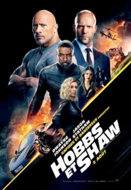 Affiche du film Rapides et dangereux présentent Hobbs et Shaw