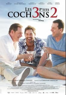 Affiche du film LES 3 P'TITS COCHONS 2