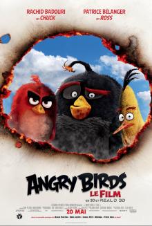 Affiche du film Angry Birds : Le Film 3D