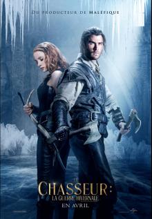 Affiche du film Le chasseur : la guerre hivernale