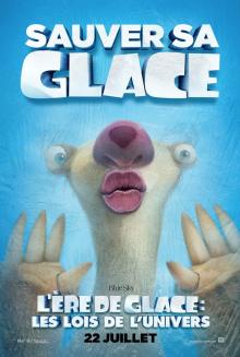 Affiche du film L'ère de glace : Les lois de l'univers