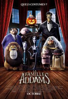 Afiche du film La famille Addams