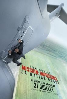 Affiche du film Mission: Impossible - La nation Rogue