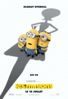 L'Affiche du films lLes Minions