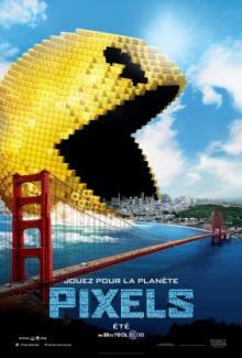 Affiche du film Pixels 3D