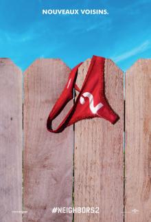 Affiche du film Les voisins 2 : La hausse de la sororité